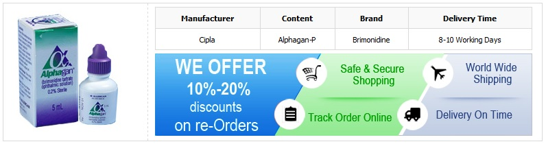 Buy Brimonidine Tartrate Online
