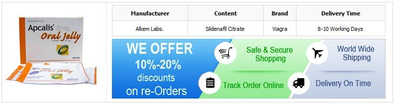 Buy Apcalis Oral Jelly 20mg Online