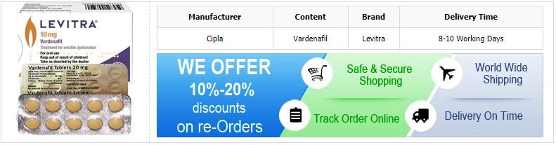Buy Generic Levitra Online