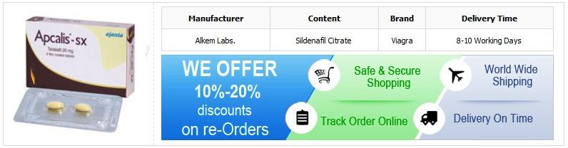 Buy 20mg Apcalis Online