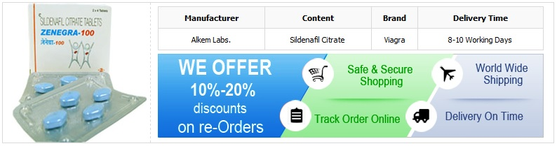 Buy 100mg Zenegra Online